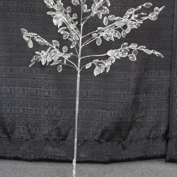24 Clear Acrylic Beaded Tree
