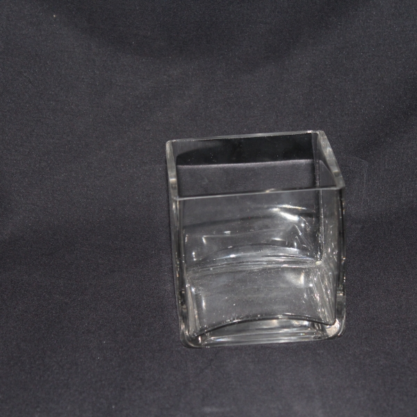 4 x 4 Square Vase 22 $3