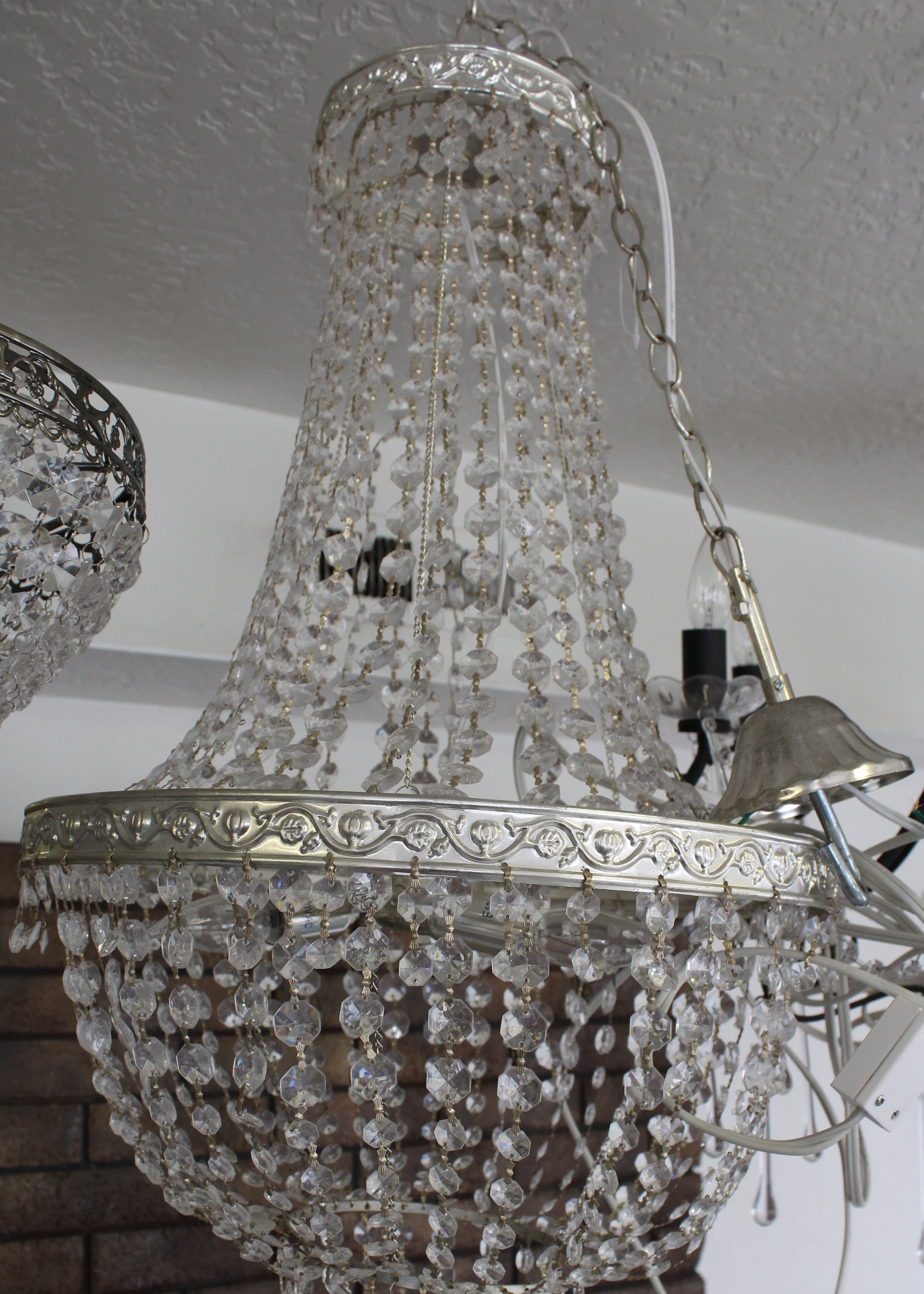 Large ornate chandelier castle manor cache valleys exquisite large ornate w power aloadofball Image collections
