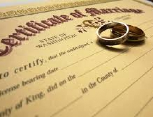 What you need when applying for a marriage license