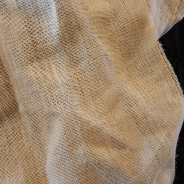 Burlap drape 1 $10