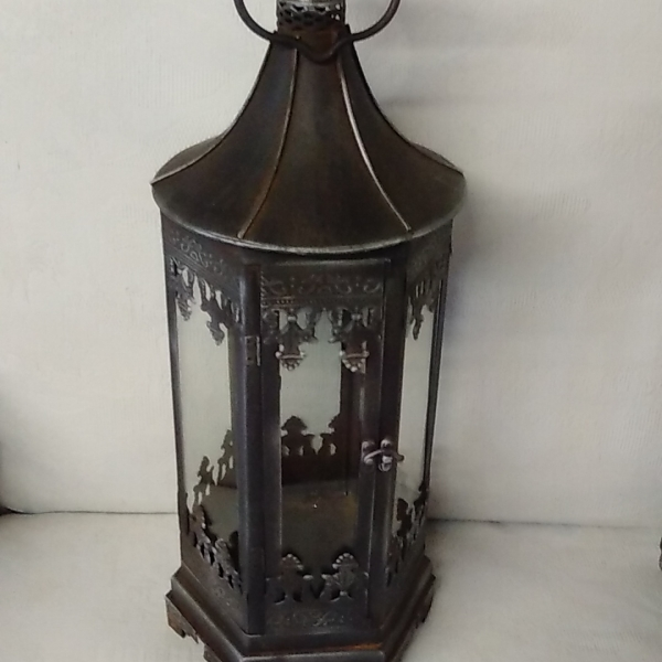 Antique Silver lantern