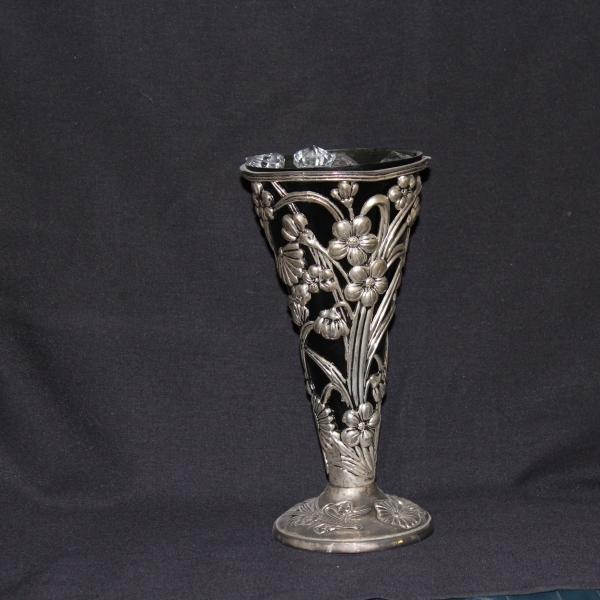 Black w: silver flowers 3 $4.00
