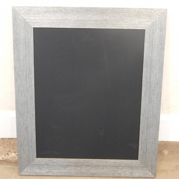Silver chalkboard