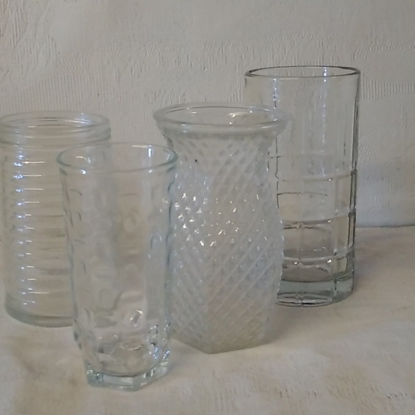 vintage glass small