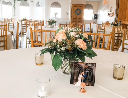Rose Gold Reception
