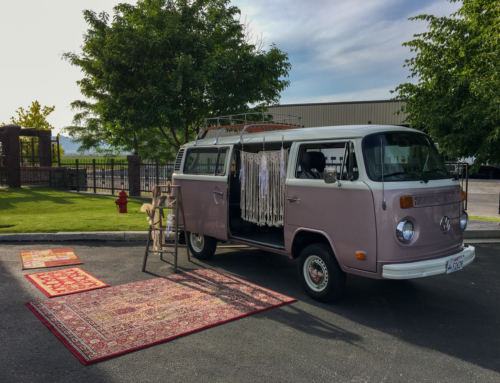 VW Buses & Boho Weddings